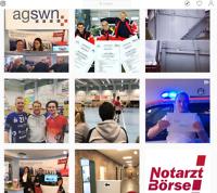 Notarzt-Börse auf Instagram
